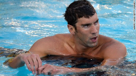 michael phelps, pool, swimming
