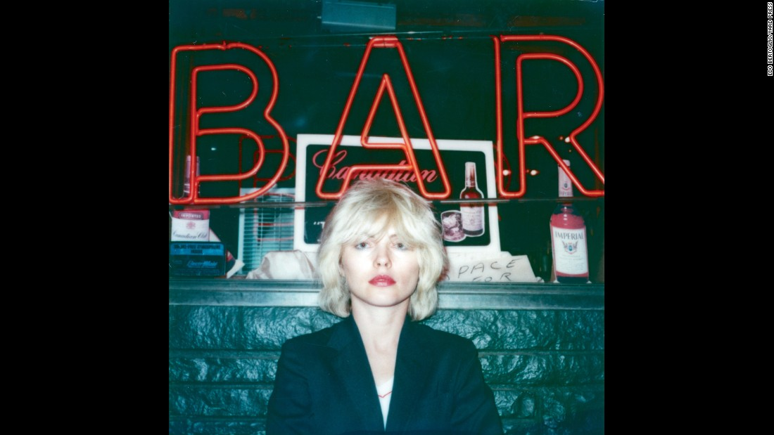 "Edo Bertoglio's new book, ""New York Polaroids 1976-1989,"" chronicles his life in New York's artist community. This shot of Debbie Harry was taken in 1979, one year after the punk singer's band had released its breakthrough ""Parallel Lines"" album."