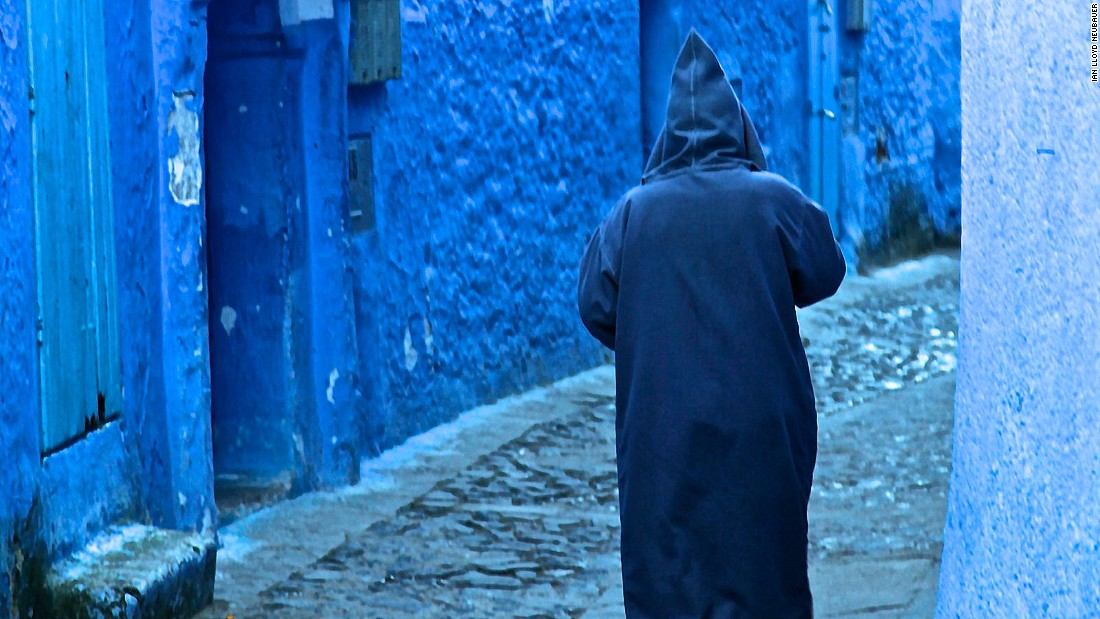 "In <a href=""https://www.youtube.com/watch?v=ZG_cEiaD9fk"" target=""_blank"">La Ville Bleue</a>, a stunning Giorgio Armani commercial filmed in Choauen in 2011, a fashion model meets a mysterious figure wearing a djellaba, the long hooded cloaks worn by men and women throughout North Africa. The djellaba bears an uncanny resemblance to the Java robes worn by Jedi knights in the ""Star Wars"" movie series, and it's been suggested ""Star Wars"" creator George Lucas was inspired by the djellaba while filming the original movie in neighboring Tunisia."