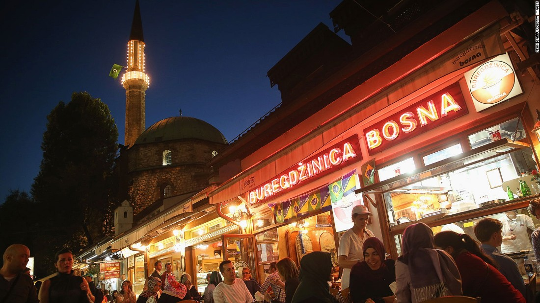 Bosnia and Herzegovina is one of the most culturally diverse places in Europe. In Sarajevo it's possible to find a mosque, synagogue and Catholic and Orthodox churches all within the same block.