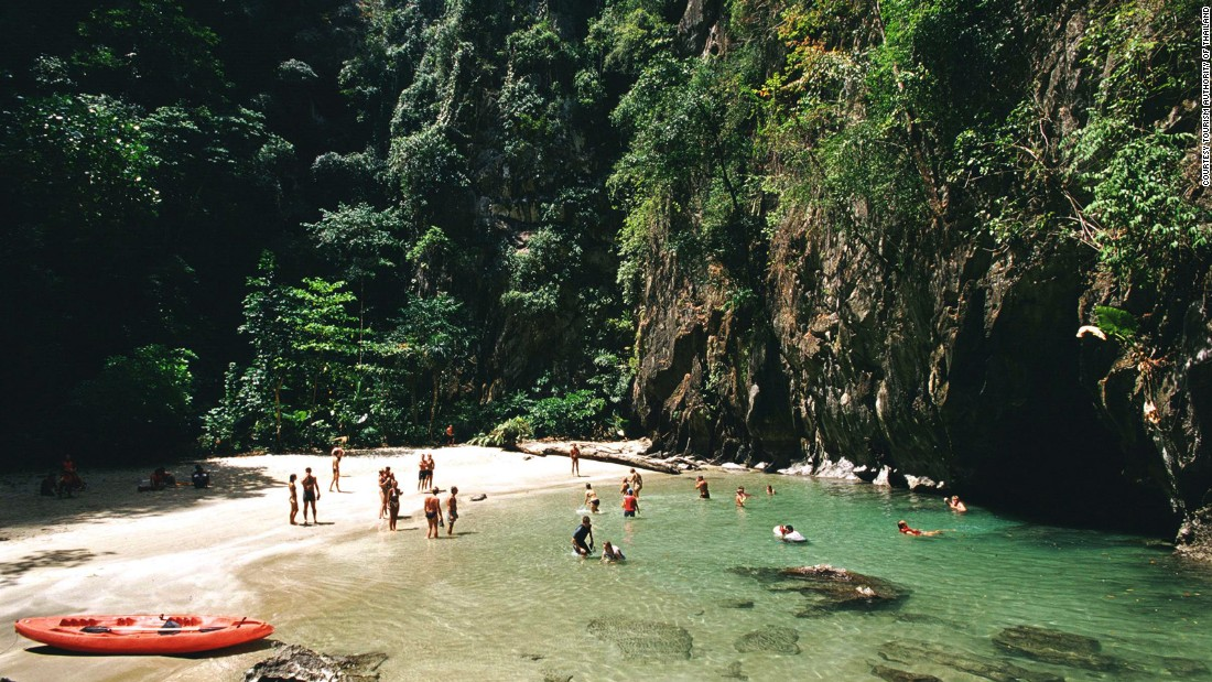 According to legend, the hidden beach was once a secret hideaway for pirates, who came here to stash their ill-gotten gains and escape the long arm of the law.