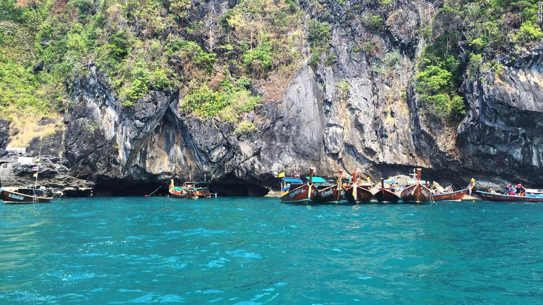 Most visitors head straight for one thing on Koh Mook -- Morakot Cave. At low tide, visitors can swim through the pitch black cave entrance to access the hidden beach on the other side.