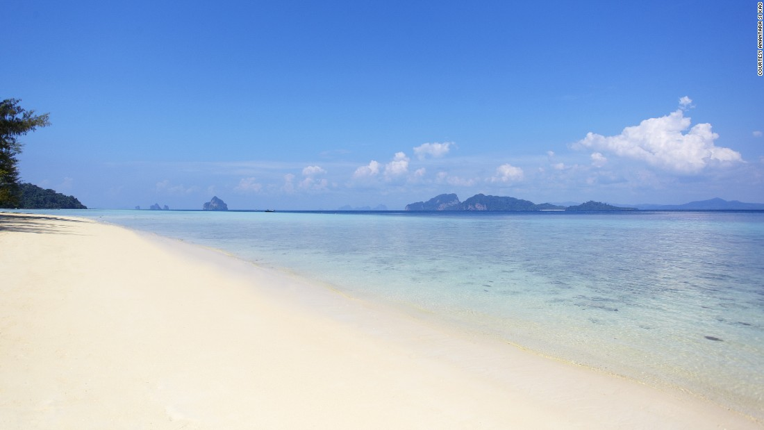 The most popular island of the bunch, Koh Kradan is famous for its stark white sand and clear waters.