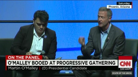 "SOTU Panel: O'Malley booed for saying ""All lives matter""_00002420"