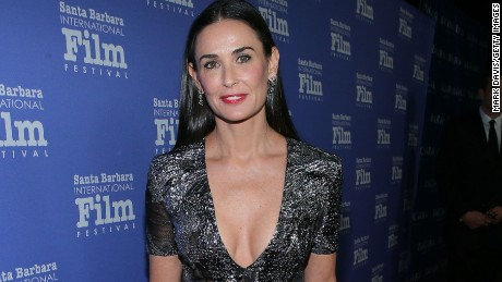 Actress Demi Moore attends the Santa Barbara International Film Festival 9th Annual Kirk Douglas Award for Excellence in Film honoring Jessica Lange held at the Bacara Resort on November 16, 2014 in Goleta, California (Photo by Mark Davis/Getty Images for Santa Barbara International Film Festival)