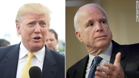 Trump campaign: McCain always gets a 'pass'