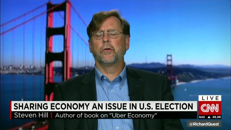 Sharing economy an issue in US election