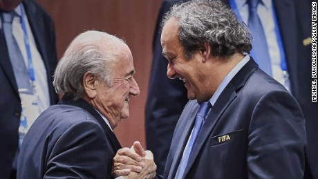 Blatter defiant over FIFA ban: 'Suspended eight years for what?'