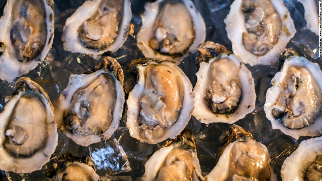 Eating raw or undercooked shellfish, such as oysters, is probably the best known way to get hepatitis A. Click through the gallery to learn about other foods associated with viruses: