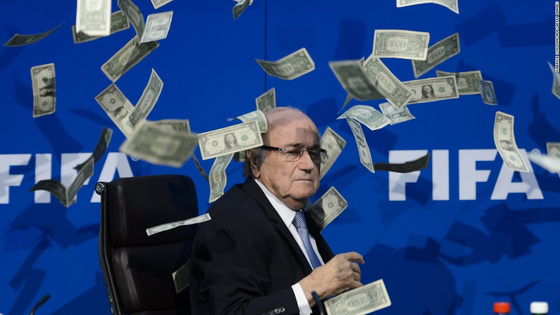 FIFA's standing has taken a bit of a battering recently and the organization's plans to rebuild its reputation took a further knock when a July 20 press conference was hijacked by British comedian Simon Brodkin -- aka Lee Nelson
