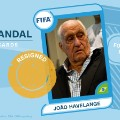 FIFA scandal collector cards Joao Havelange