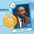 FIFA scandal collector cards Jeffrey Webb