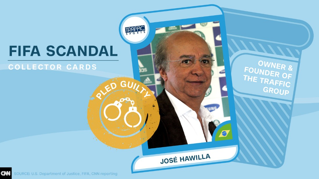 FIFA scandal collector cards Jose Hawilla