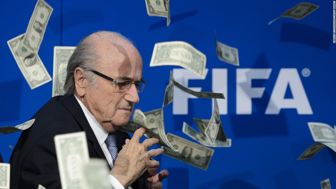 FIFA was plunged into crisis in late May when seven FIFA officials were charged for racketeering, wire fraud and money laundering by the FBI.
