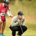 Spieth kneeling british open 2015