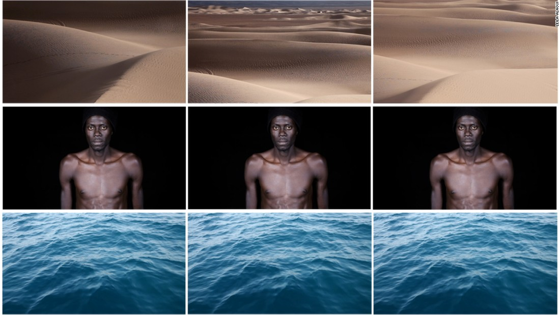 "Alaoui also made a film, called The Crossing, which was shown at <a href=""http://mmpva.org/"" target=""_blank"">The Marrakesh Museum for Photography and Visual Arts</a>. In it, everyday Moroccans discuss their experiences, some of which aren't too favorable to authority figures.<br /><br />""When I was in the process of making it, I wasn't sure if I could show it in Morocco. I thought, maybe it was a bit too controversial,"" she said."
