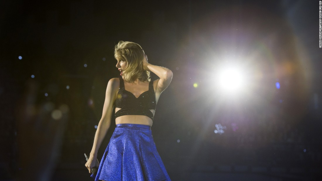 "Best pop video: Taylor Swift (pictured), ""Blank Space""; Beyoncé, ""7/11""; Ed Sheeran, ""Thinking Out Loud""; Mark Ronson feat. Bruno Mars, ""Uptown Funk""; Maroon 5, ""Sugar.""<br />"