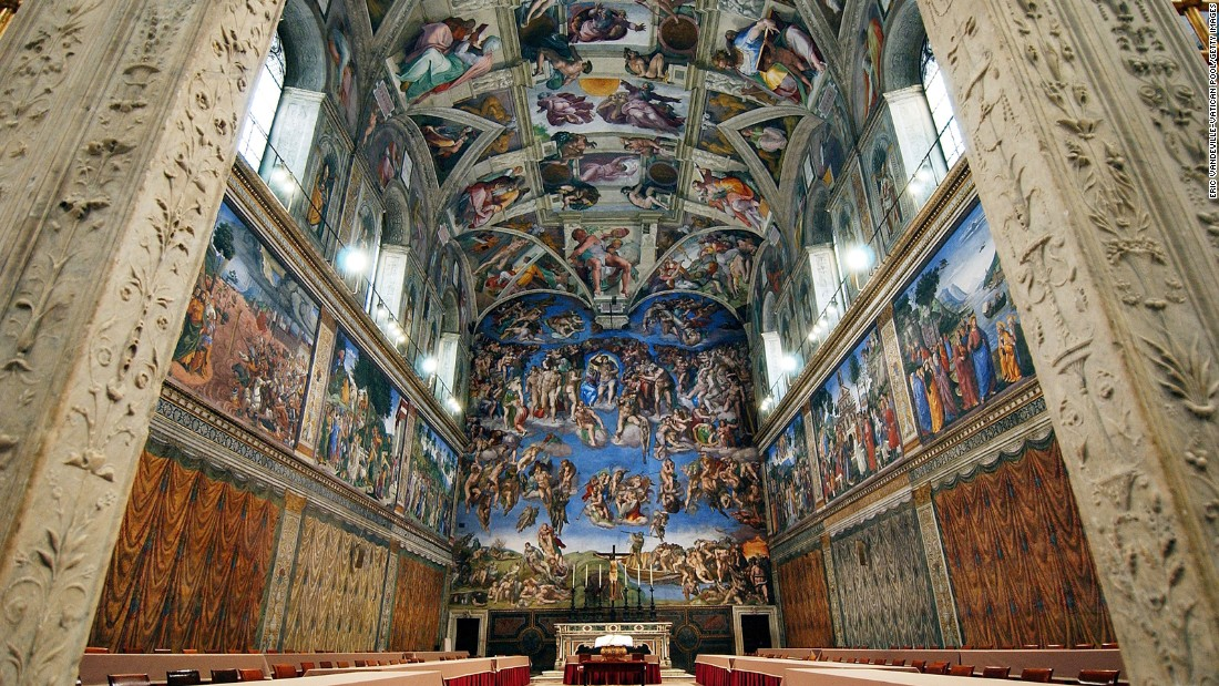 """After seeing so many other free churches' beautiful ceillings, I was disappointed with the Sistine Chapel's ceiling."" -- Chun P., San Diego"