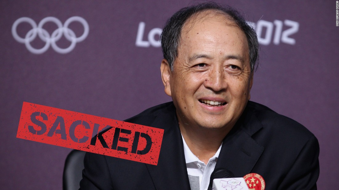 "China <a href=""http://cnn.com/2015/07/17/sport/china-sport-official-sacked/"">sacked one of its top sporting officials</a> on July 16 because he's under investigation over allegations of corruption. Xiao Tian has been removed from his post as the deputy director of the General Administration of Sport (GAS). He's also a vice chairman of China's national Olympic committee, and was often its public face."