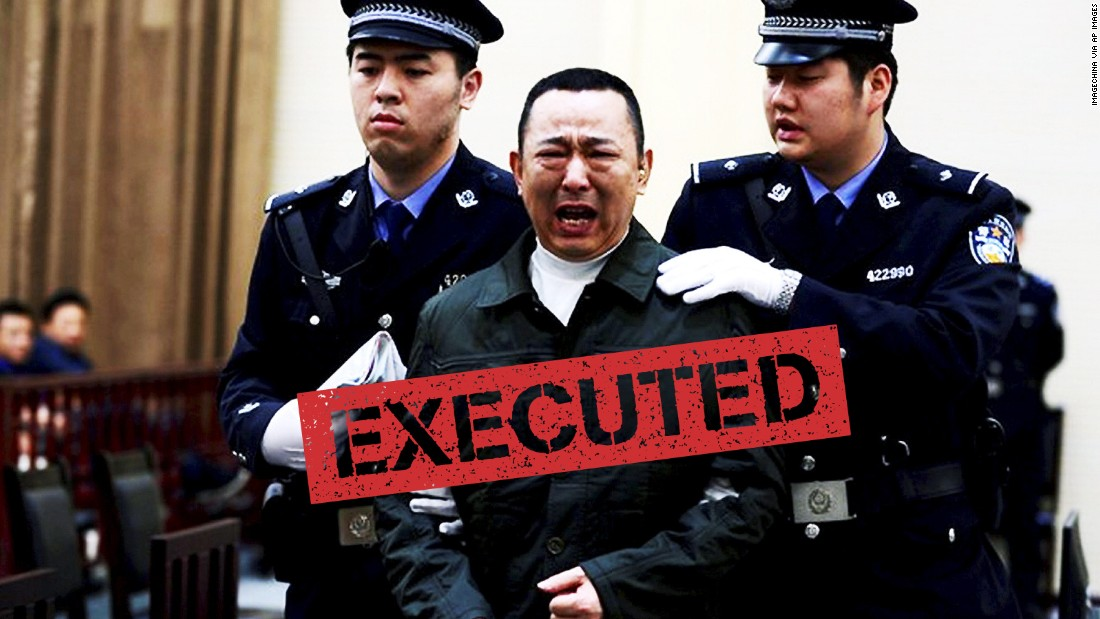"<a href=""http://cnn.com/2015/02/09/asia/china-tycoon-execution/"">Liu Han</a>, a mining tycoon found guilty of murder and running a ""mafia-style"" organization, wasn't strictly a corrupt official but his conviction shed light on his links to a top target of Xi's anti-corruption campaign -- Zhou Yongkang."