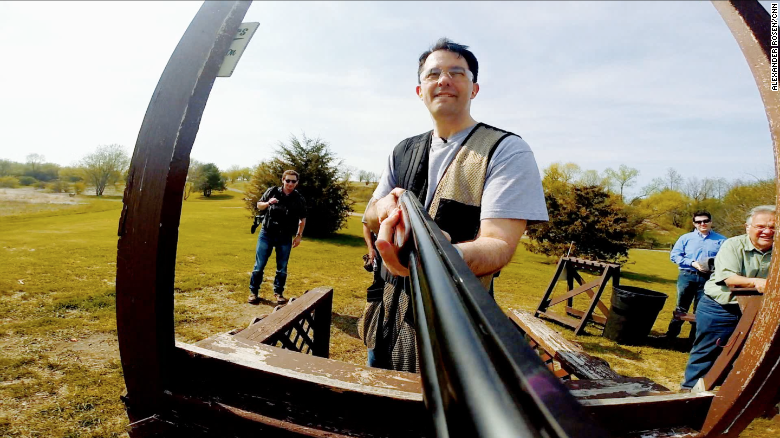 Shooting guns and talking politics with Scott Walker