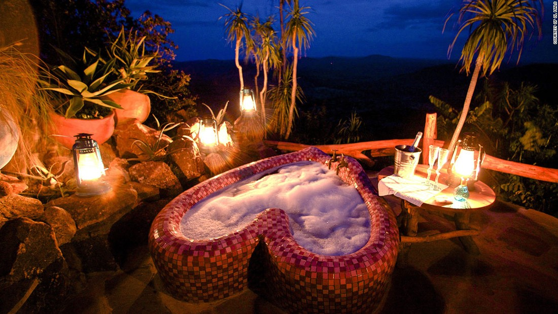 """The quirkily designed Ol Malo game sanctuary has been described by Travel Africa Magazine as """"a kind of African Hogwarts."""" It's one of the country's most popular spots for marriage proposals."""