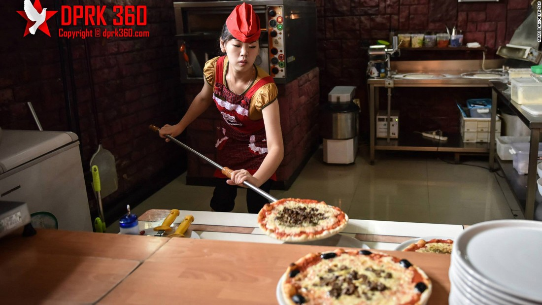 "Pyongyang's Italian pizzeria, opened in 2009, is another unexpected sight in the North Korean capital. <a href=""http://www.dprk360.com/360/pyongyang_italian_restaurant/"" target=""_blank"">See it in 360 degrees here</a>."