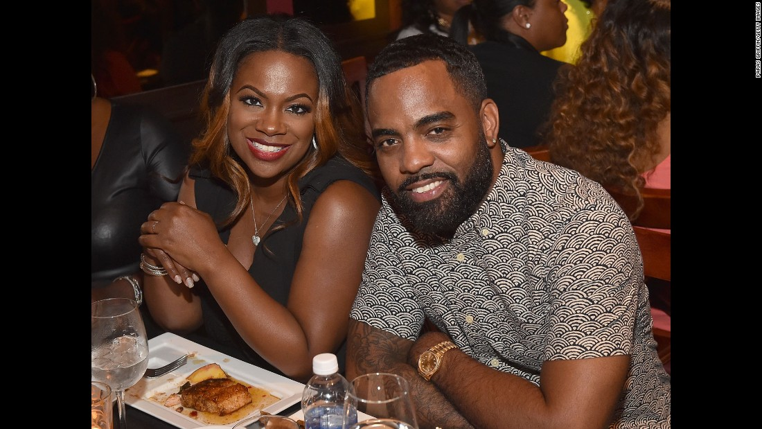 """Real Housewives of  Atlanta"" star Kandi Burrus and husband Todd Tucker announced in July that they were expecting their first child together. ""We're so thrilled to announce the news of our bundle of joy, it's a dream come true,"" <a href=""http://www.eonline.com/news/679145/kandi-burruss-is-pregnant-real-housewives-of-atlanta-star-expecting-first-child-with-husband-todd-tucker"" target=""_blank"">she told E! News.</a> In January 2016 she gave birth to their son. They each have daughters from other relationships."