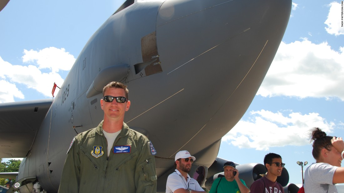 On July 17, Air Force Reserve Maj. Jeremy Holt was the first pilot to land a giant B-52 bomber at Oshkosh. Despite a very short runway, he touched down safely, thanks to careful planning and preparation.