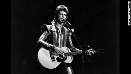 David Bowie performs his final concert as Ziggy Stardust at the Hammersmith Odeon, London.
