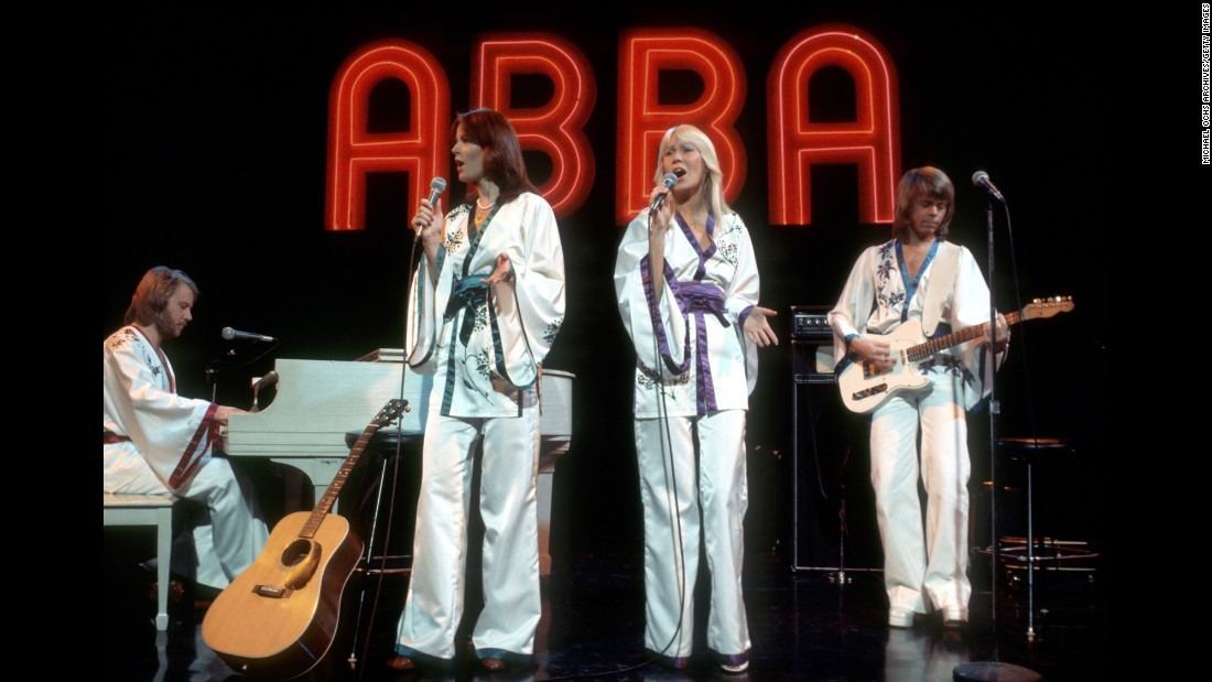 "If you hear an ABBA song in the morning, chances are it'll be stuck in your head all day. This Swedish quartet was the embodiment of mainstream '70s pop with hit singles like ""Honey, Honey,"" ""Dancing Queen,"" and ""Waterloo."" The group's hyper-catchy sound catapulted it to lasting popularity, with more than 300 million records sold worldwide."