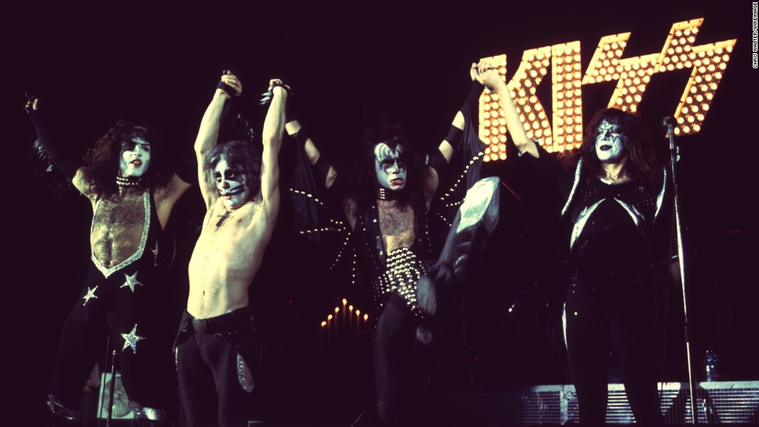 Kiss' iconic makeup and hyperbolic pyrotechnic performances bred a new kind of rock where  theatrics were just as important -- or even more important -- than music. For fans, there was no boundary between the band and its comic-book personas: Gene Simmons as the tongue-flicking demon, Paul Stanley as the dreamy star child, Ace Frehley as the far-out spaceman and Peter Criss as the catman.