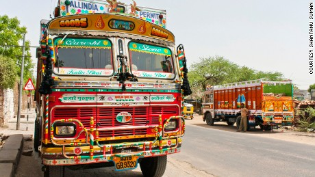 Pimp my ride: The psychedelic world of Indian truck art