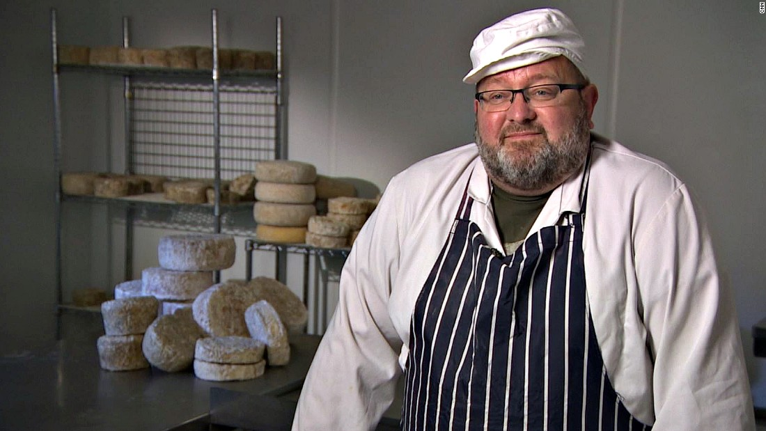 "Cheese obsessive Phillip Wilton left his job as a management consultant to launch a mico-dairy in North London called <a href=""http://wildescheese.co.uk/"" target=""_blank"">Wildes Cheese</a>. His cheese have quirky names, like 'the drunk one', but have won awards for quality."