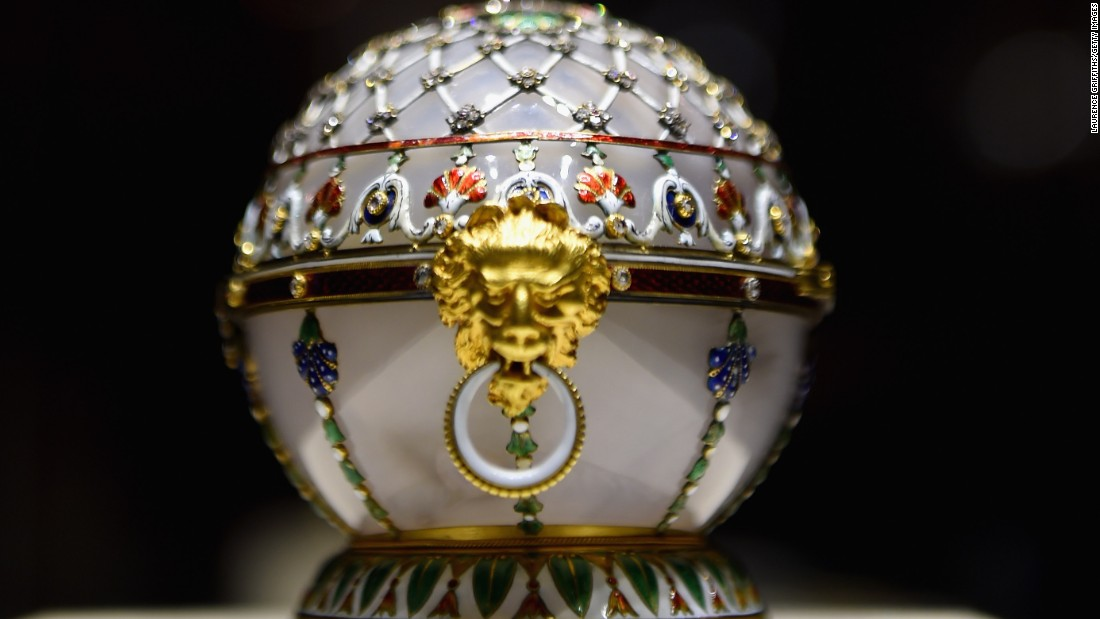 Bored of football? You can always visit St. Petersburg's Faberge Museum ...