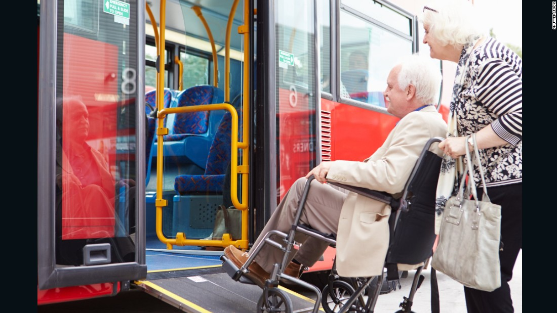 The Americans with Disabilities Act of 1990 prohibited discrimination based on disability. That landmark legislation, passed 25 years ago this month, changed American society to be more accessible and inclusive. Here's a look at some of the law's biggest effects -- such as wheelchair accessibility on buses -- and what lies ahead for disability rights.