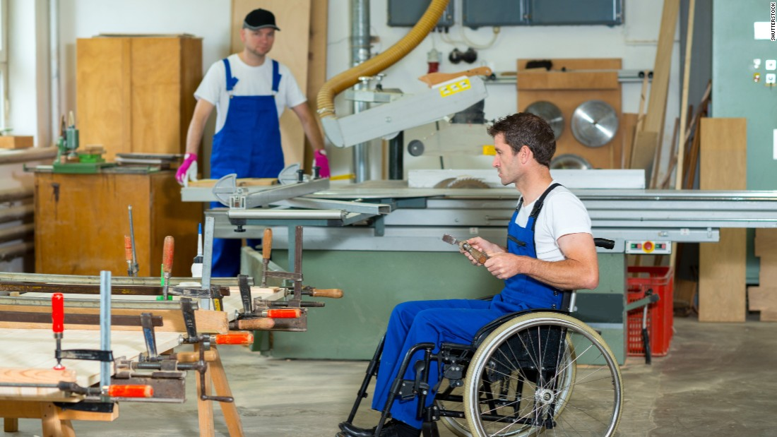 Despite the success of the ADA, many people with disabilities still have difficulty getting jobs. The employment rate for people with disabilities in 2012 was 33.5%: about half what it was for non-disabled workers.