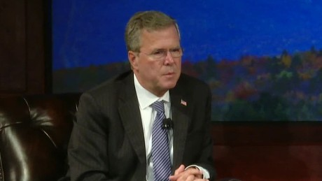 jeb bush defends medicare comment_00003925.jpg