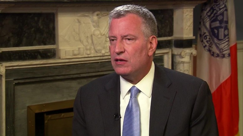 De Blasio: Trump 'does not represent New York City'