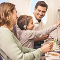 airport kids food- LATAM airlines