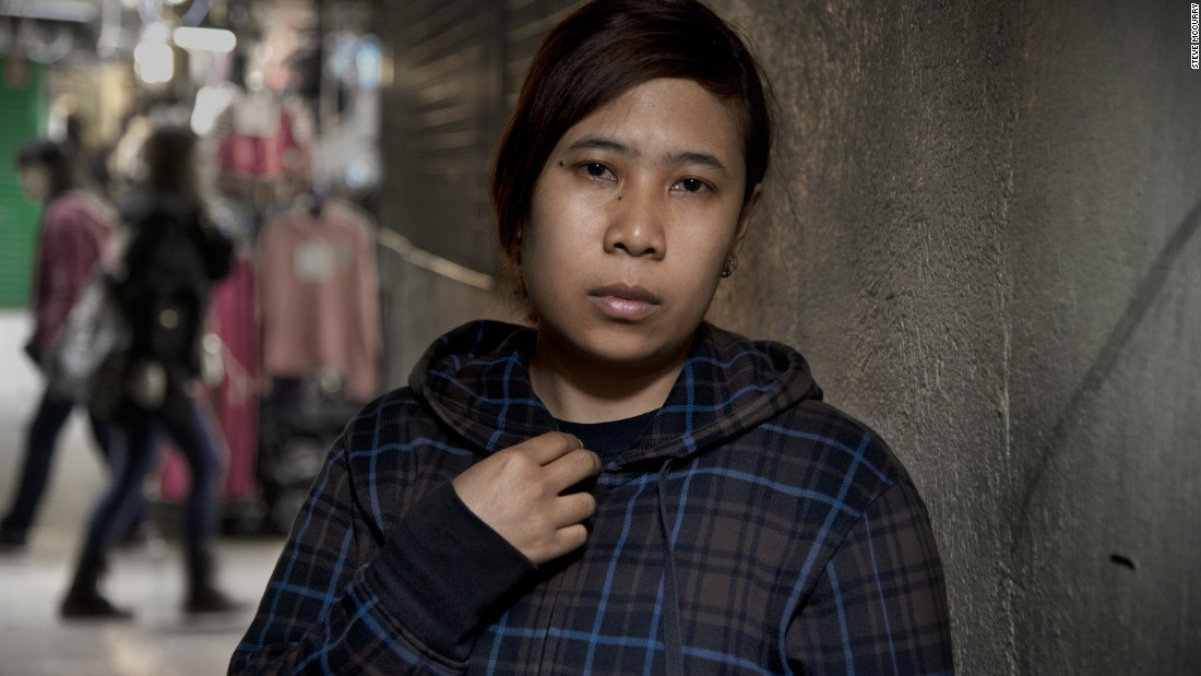 """My employer said she's very rich. She also said, 'If I hit you and kill you, no one will know that.' The agent tried to calm me down, saying, 'I will give you a very good employer if you don't tell anyone (about this).'"" Susi worked 20-hour days, only sleeping as the sun came up. Her Hong Kong employer frequently slapped her and made her sign a paper saying wages had been paid. After seven months without contact, her family forced a meeting, and Susi left the employer. The agent then placed another domestic worker in that home. <br />Susi's employer subsequently hired (through a different agency) another Indonesian domestic worker, Erwiana Sulistyaningsih, whose eight months of ill treatment made international headlines and resulted in criminal convictions."