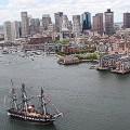 Boston harbour FILE