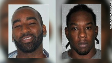 Escaped prisoners Hassan Atwell (left) and Christopher Selby (right)