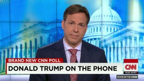 SOTU Tapper: Trump leads Republicans in CNN poll_00012014