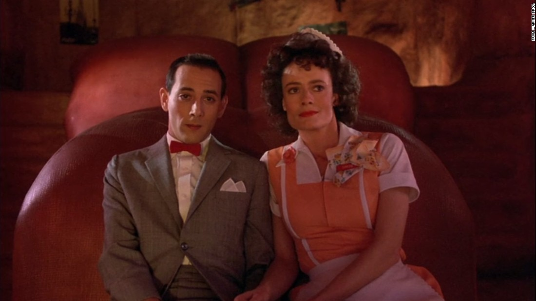 "<strong>""Do you have any dreams? ""Yeah, I'm all alone. I'm rolling a big doughnut and this snake wearing a vest...""</strong><br /><br />Pee-wee and Simone (Diane Salinger) shared a tender moment inside a giant dinosaur."