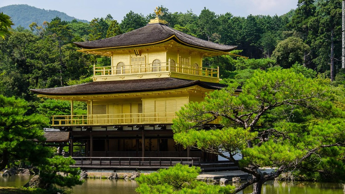 The glorious Golden Pavilion may be the most famous of all Kyoto's attractions.