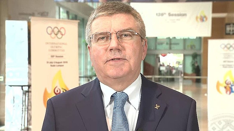 IOC president talks about fight against doping