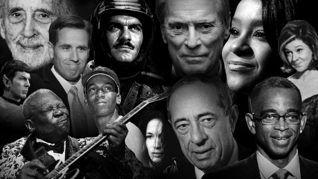 People we lost in 2015