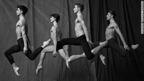 'Athletes and artists': The men of the Paris Opera Ballet