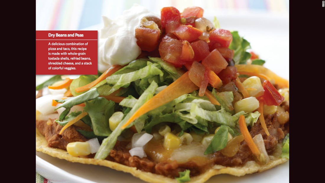 """<a href=""""http://www.cnn.com/2015/08/05/health/eagle-pizza-kids-recipe/index.html""""><strong>CLICK HERE FOR FULL RECIPE</a></strong><br />The name might be a stretch, but if your kids find it funny and eat it, who cares?  This tasty version of a personal pizza comes from Chef Ruth Burrows and the kids from Byars Elementray School in Byars, Oklahoma."""